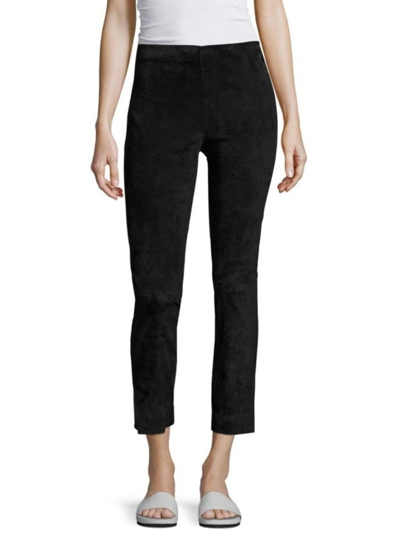 Vince Cropped Suede Pants