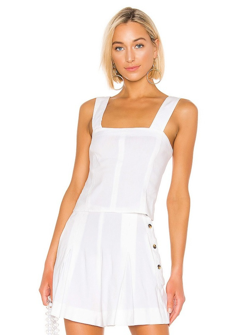 Vince Cropped Wide Strap Top