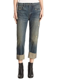 Vince Cuffed Union Slouch Cotton Jeans