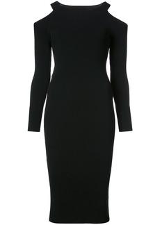 Vince cut-out shoulder dress - Black