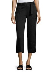 Vince D-Ring Belted Culotte Pants
