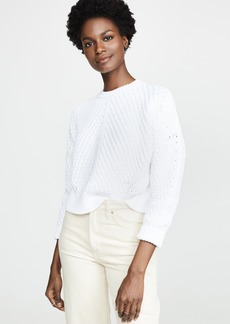 Vince Directional Rib Pullover