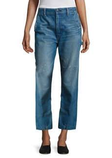 Vince Distressed Carpenter Jeans