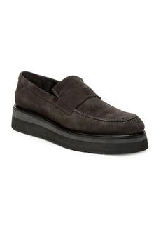 Vince Dorsey Leather Platform Loafers