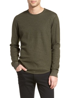 Vince Double Knit Long Sleeve Shirt