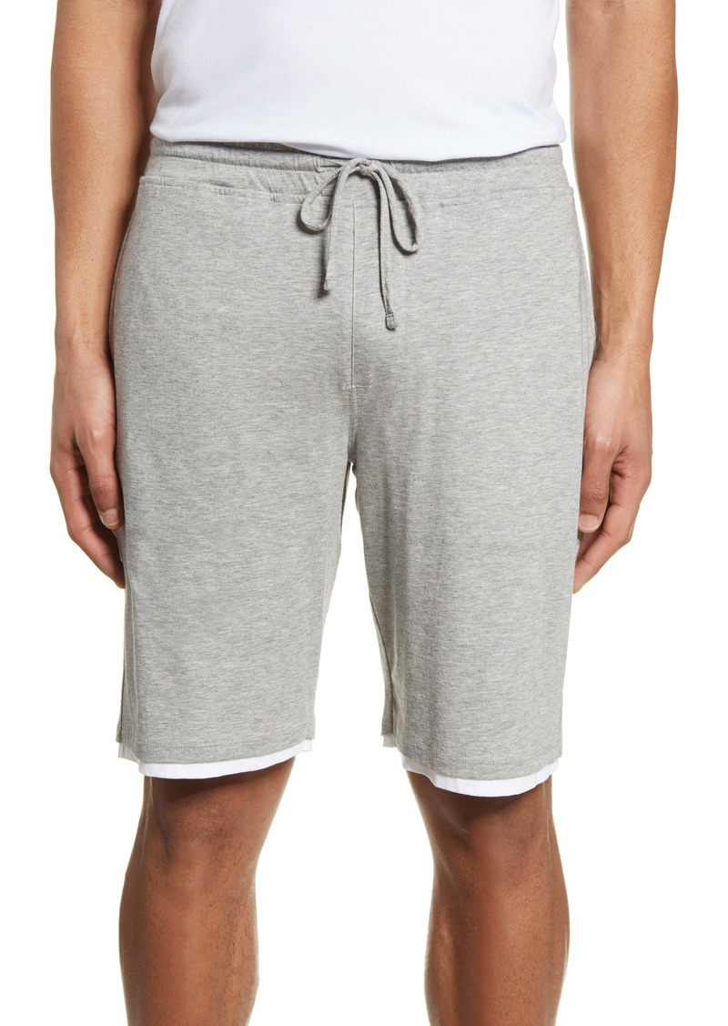Vince Double Layer Drawstring Shorts