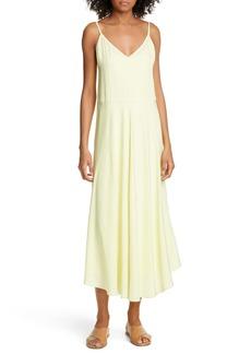 Vince Double Layer Midi Dress