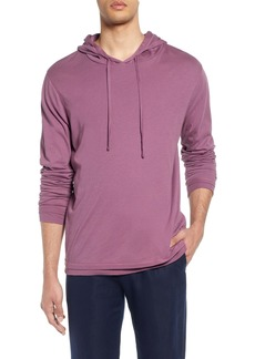 Vince Double Layer Solid Hoodie