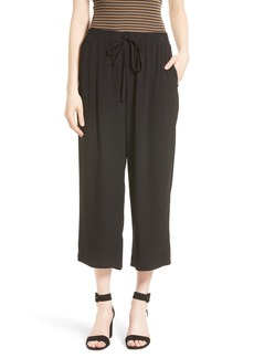 Vince Drawstring Waist Crop Pants