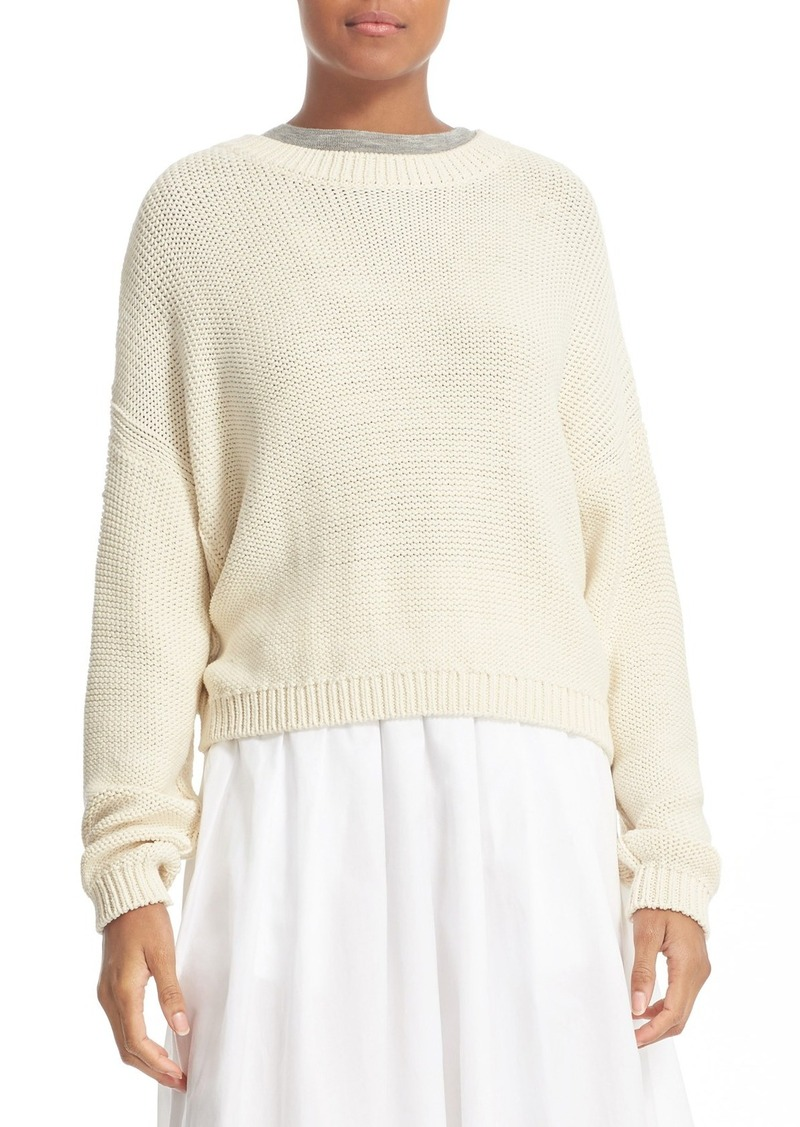 Vince Vince Drop Shoulder Cotton Blend Sweater | Sweaters - Shop ...