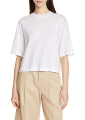 Vince Drop Shoulder Crop Top
