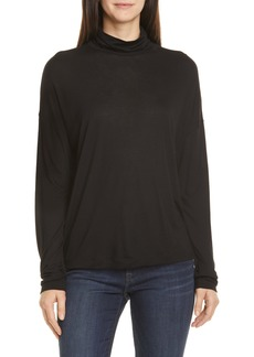 Vince Drop Shoulder Turtleneck Top