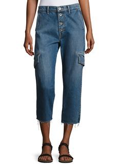 Vince Drop Slouch Cargo Jeans