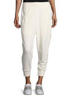 Vince Dropped-Inseam Relaxed Track Pants