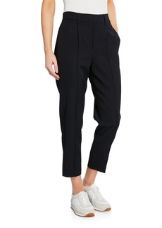 Vince Easy Pull-On Crop Pants