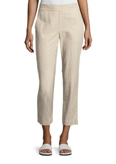Vince Easy Pull-On Twill Pants