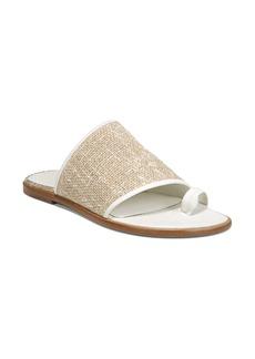 c72403543d1 Vince Vince Solana Denim Espadrille Platform Slide Sandals