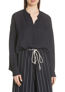 Vince Envelope Sleeve Silk Blouse