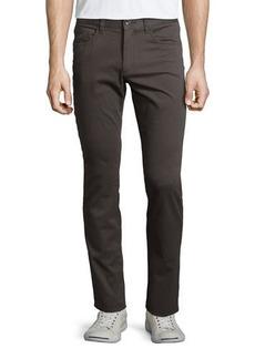 Vince Essential Five-Pocket Twill Pants