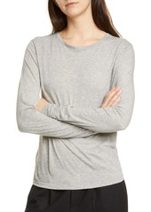 Vince Essential Long Sleeve Crewneck Tee
