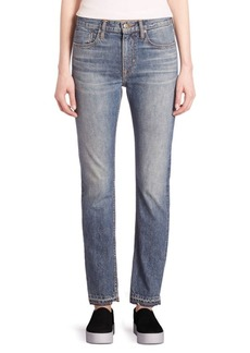 Vince Faded Slim-Fit Jeans