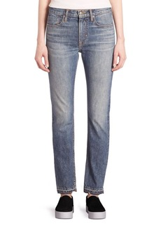 Vince Faded Slim Fit Jeans