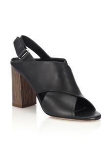 Vince Faine Leather Sandals