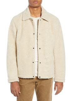 Vince Faux Fur Coach's Jacket