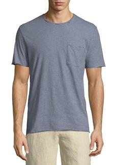 Vince Feeder Striped Jersey T-Shirt