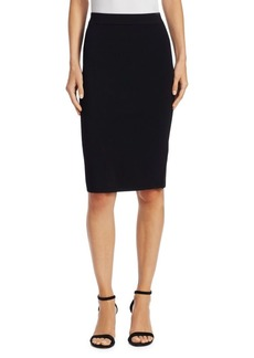 Vince Fitted Jersey Skirt