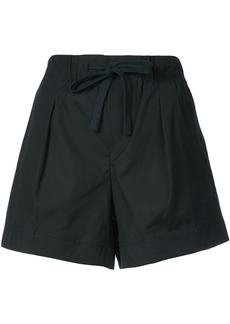 Vince flared front fastened shorts - Blue
