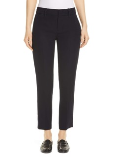 Vince Flat Front Crop Trousers