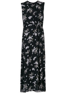 Vince floral print shirt - Black