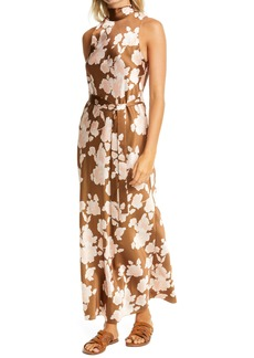 Vince Floral Tapestry Maxi Dress