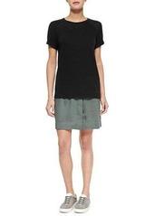 Vince Folded-Waist Relaxed Skirt