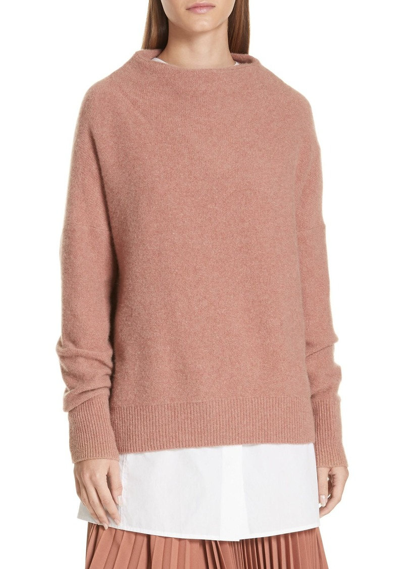3c07c540b51e8f Vince Vince Funnel Neck Cashmere Sweater | Sweaters
