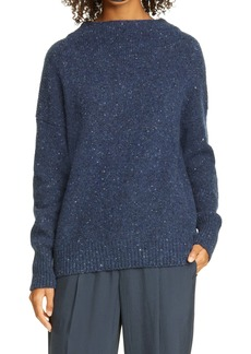 Vince Funnel Neck Wool Blend Sweater
