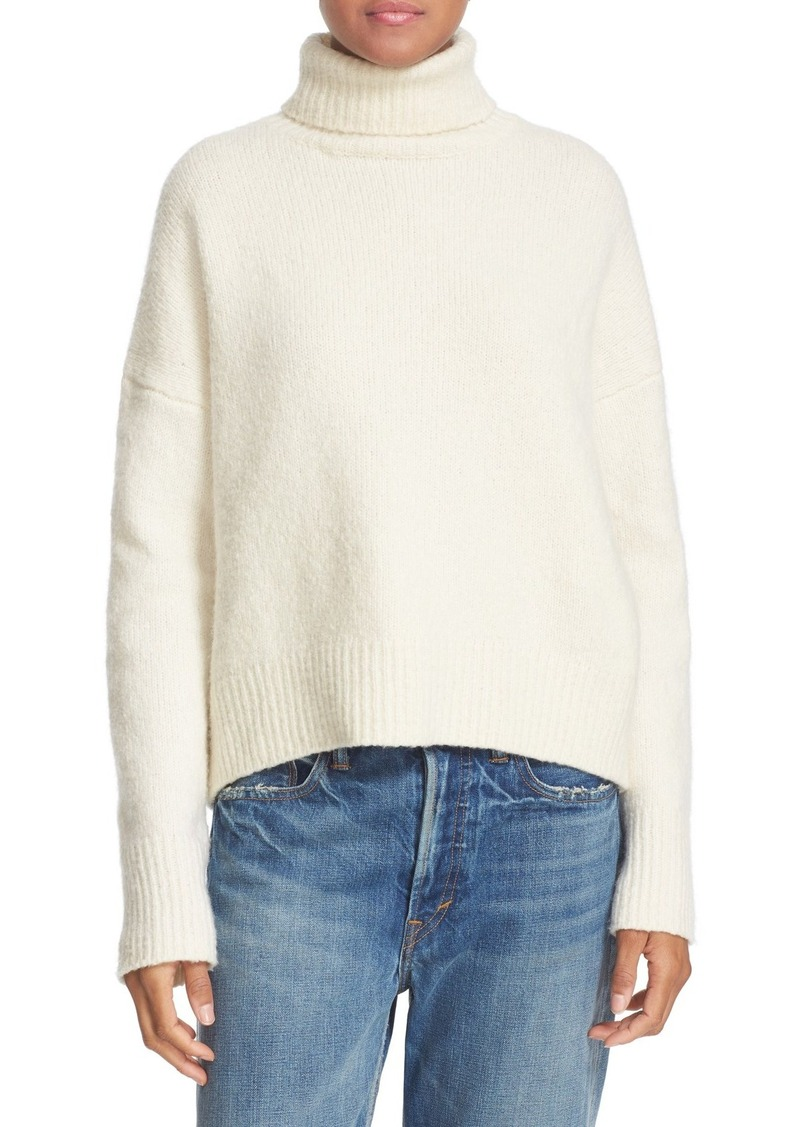 Vince Wool Blend Turtleneck