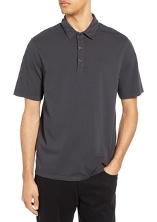 Vince Garment Dyed Slim Fit Polo
