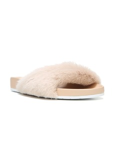 Vince Garrison Genuine Shearling Sandal (Women)