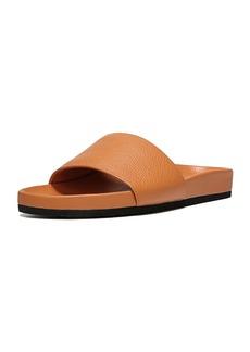 Vince Gavin Leather Pool Slide Sandal