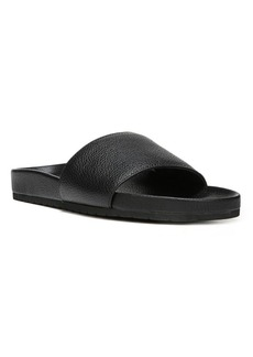 Vince Gavin Leather Pool Slides