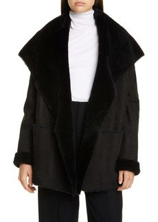 Vince Genuine Shearling Coat