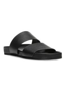 Vince Georgie Leather Slides
