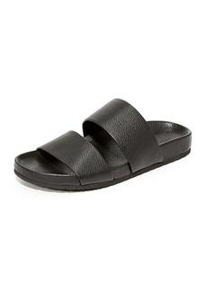 Vince Georgie Two Band Slide Sandals