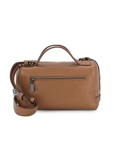 Vince Gramercy Leather Small Satchel