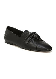 Vince Haddie Knotted Leather Loafers