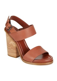 Vince Haley Leather Sandals
