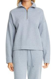 Vince Half Zip Pullover Top