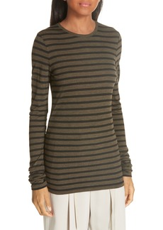 Vince Heather Stripe Top